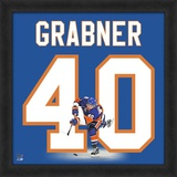 Michael Grabner, Islanders representation of the player's jersey Framed Memorabilia