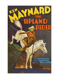 The Upland Rider Poster