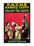 Follow the Crowd Posters