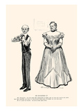 He Doubted It Prints by Charles Dana Gibson