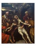 Entombment of Christ Prints by Moretto Da Brescia
