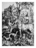 St. Eustace Poster von Albrecht Dürer
