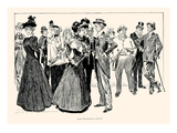 Some Professional People Posters by Charles Dana Gibson