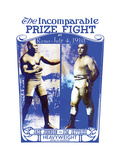 "Johnson Vs. Jeffries ""The Incomparable Prize Fight"" Posters"
