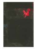 Homage to Rothko - Red and Blue on Black Prints by  SP