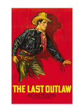 The Last Outlaw Posters