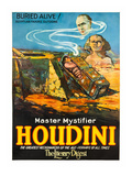 Master Mystifier Houdini - Buried Alive! Prints