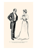 Unnecessary Kissing Prints by Charles Dana Gibson