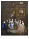 Wedding of Stephen Beckingham and Mary Cox Posters by William Hogarth