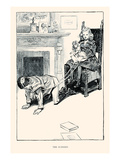 The Nursery Print by Charles Dana Gibson