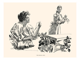 The Morning Note Posters by Charles Dana Gibson