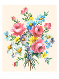 Fancy Flower Arrangement Posters