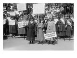 Women Support the Save Sugar Campaign Posters