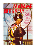 Madame Butterfly Affiches