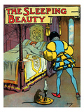 The Sleeping Beauty Prints by John Hassall