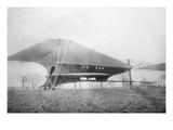 Pre-WWI 81 Foot Cooley Design, Largest Aircraft of its Day. Prints
