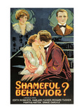 Shameful Behavior Prints