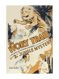 Jungle Mystery - the Ivory Trail Poster