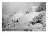 Frozen Niagara Falls Posters