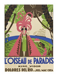 "Bird of Paradise ""L'Oiseau De Paradis"" Prints"