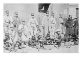 Machine Gunners in Mexico City Prints