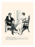 Being a Writer Prints by Charles Dana Gibson
