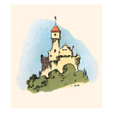 Castle Prints by John Hassall