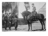 Nicholas I on Horseback Is Saluted by His Military Prints