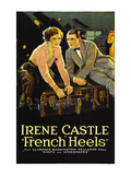 French Heels Poster