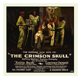 The Crimson Skull Posters par  Norman Studios
