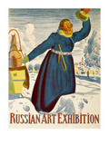 Russian Art Exhibition Posters