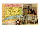 Connecticut Prints by  Arbuckle Brothers