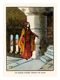 The Princess Wanders Through the Palace Prints by John Hassall