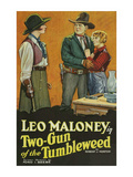 Two - Gun of the Tumbleweed Affiche