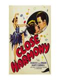 Close Harmony Poster