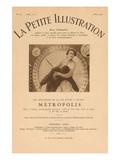 La Petit Illustration - Metropolis Prints