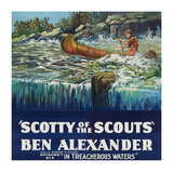 Scotty of the Scouts - in Treacherous Waters Prints