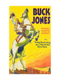 Buck Jones Premium Giclee Print