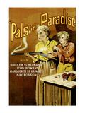 Pals in Paradise Posters