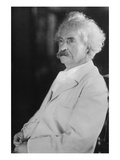 Portrait of Mark Twain Prints