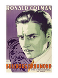 Bulldog Drummond Print