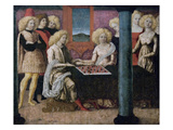 The Chess Players Prints by  Liberale Da Verona
