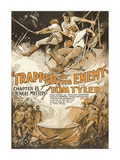 Jungle Mystery -Trapped by the Enemy Premium Giclee Print