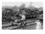Railroad Wreck Photo