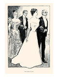 The Debutante Prints by Charles Dana Gibson