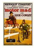 Motor Mad Print by  Educational Film Exchanges