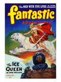 The Ice Queen Poster by Robert Gibson Jones