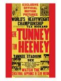 Tunney Vs. Heeney Posters