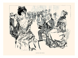Waiting for Tables Posters by Charles Dana Gibson