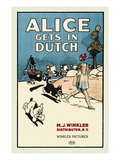 Alice Gets in Dutch Posters by M.J. Winkler